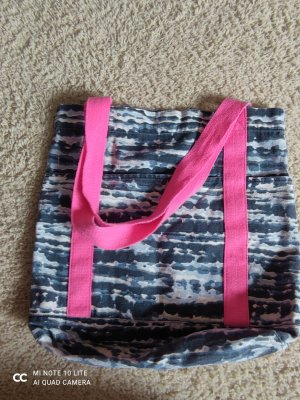 H&M Pouch Bag neon red-neon blue