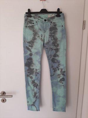 H&M Pantalón de tubo azul claro-azul celeste
