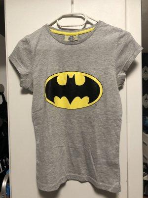 Batman T-shirt lichtgrijs-geel
