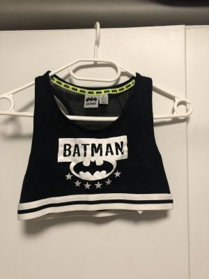 Batman Sports Tank black-white