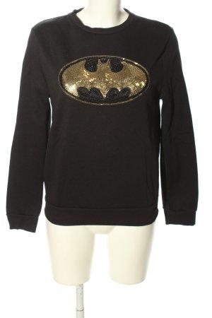 Batman Sweatshirt schwarz Casual-Look