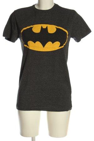 Batman T-Shirt black-primrose flecked casual look
