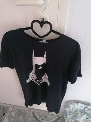 Batman T-shirt biały-czarny