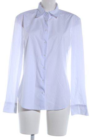 Bats Camicia a maniche lunghe bianco stile professionale