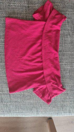 SheIn Haut bandeau rouge fluo