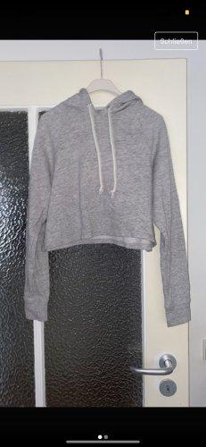 H&M Sweter bez rękawów z cienkiej dzianiny jasnoszary