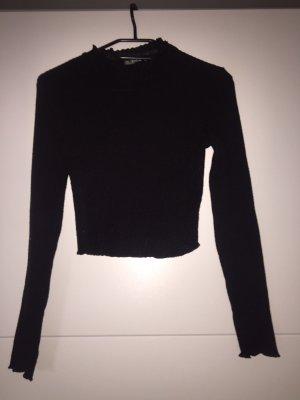 Bauchfreies Langarm-Shirt