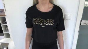 Tally Weijl Shirt zwart-goud