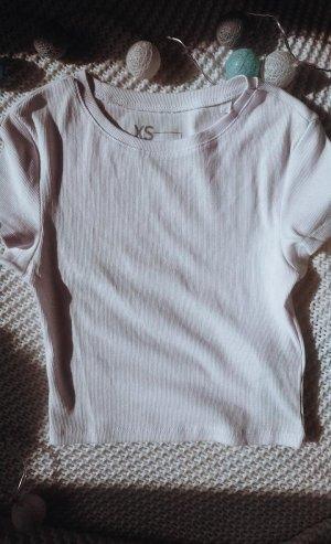 FB Sister Geribd shirt wit