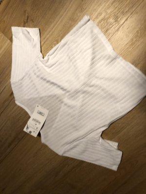 Bauchfreies T-Shirt von H&M