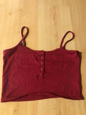Sheinside Basic topje rood
