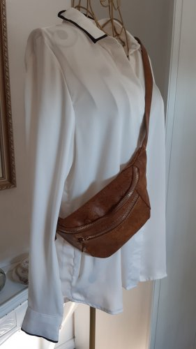 Bumbag cognac-coloured