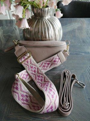 Börse in Pelle Bumbag pink-magenta