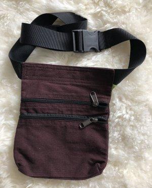 Ohne Bumbag dark brown-black cotton