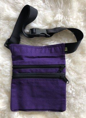 Ohne Bumbag dark violet-black cotton
