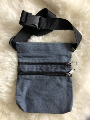 Ohne Bumbag grey-black cotton