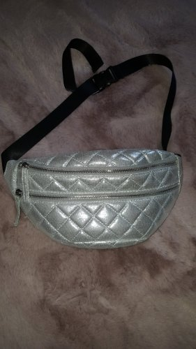 Bumbag silver-colored