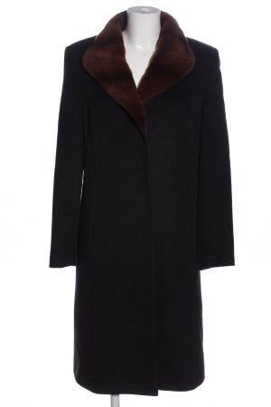 Bauer Floor-Lenght Coat black-brown casual look