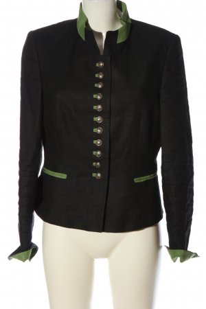 Bauer pour Femme Veste bavaroise noir-vert style d'affaires