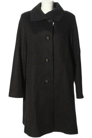 Bauer pour Femme Manteau en laine noir moucheté style décontracté