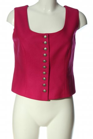 Bauer Traditional Vest pink casual look