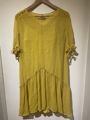 Baum & Pferdgarten Midi-jurk geel-limoen geel