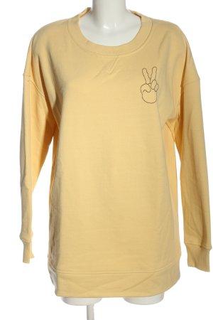 Baum & Pferdgarten Sweatshirt blassgelb Casual-Look