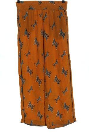 Baum und Pferdgarten Pantalone largo arancione chiaro-grigio chiaro stile casual