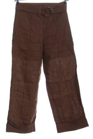 Baum und Pferdgarten Pantalone di lino marrone stile casual