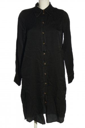 Baum und Pferdgarten Long Blouse black striped pattern casual look