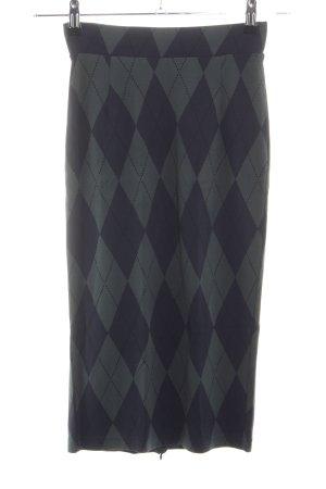 Baum und Pferdgarten Midi Skirt light grey-lilac graphic pattern casual look
