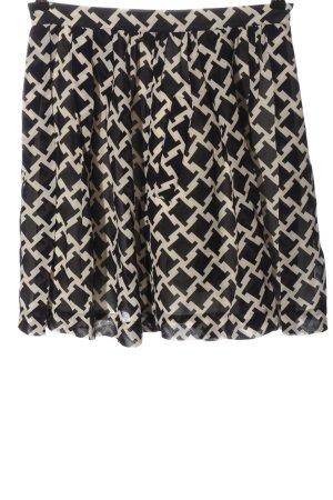 Baum und Pferdgarten Mini rok zwart-wolwit volledige print casual uitstraling