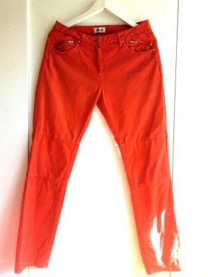 Baum und Pferdgarten orange Jeans