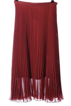 Baum und Pferdgarten Pleated Skirt red elegant