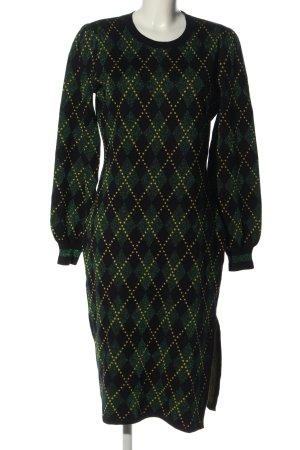 Baum und Pferdgarten Robe pull motif à carreaux style décontracté