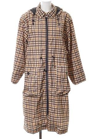 Baum und Pferdgarten Manteau de pluie motif à carreaux style décontracté