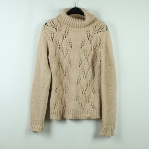 Baum und Pferdgarten Turtleneck Sweater pale yellow-gold-colored