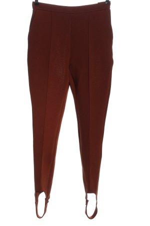 Baum und Pferdgarten Pantalone jersey marrone puntinato stile casual