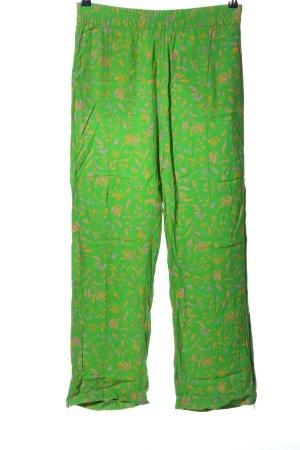 Baum und Pferdgarten Pantalone jersey verde stampa integrale stile casual