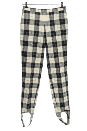 Baum und Pferdgarten Pantalone jersey bianco sporco-nero stampa integrale