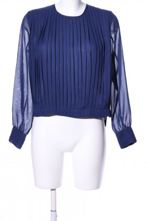 Baum und Pferdgarten Transparent Blouse blue casual look