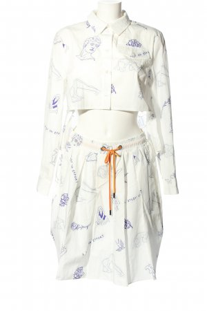 Baum und Pferdgarten Woven Twin Set white-blue allover print casual look