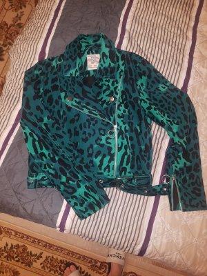 Baum und Pferdgarten Short Jacket black-forest green