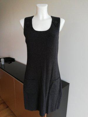Gerry Weber Vestido de lana gris oscuro