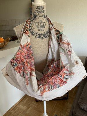 Antica Sartoria Pouch Bag multicolored cotton