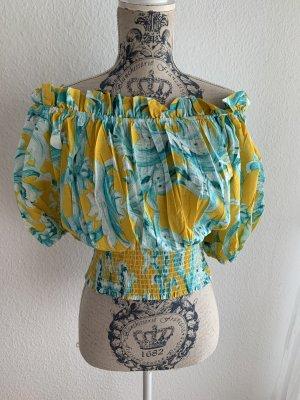 Antica Sartoria Tunique-blouse multicolore coton
