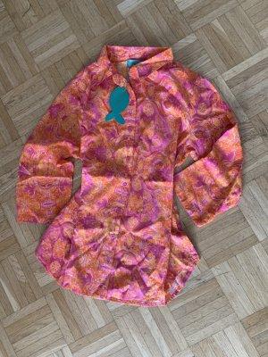 Antica Sartoria Blouse-chemisier multicolore coton