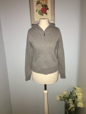 Active USA Capuchon sweater zilver