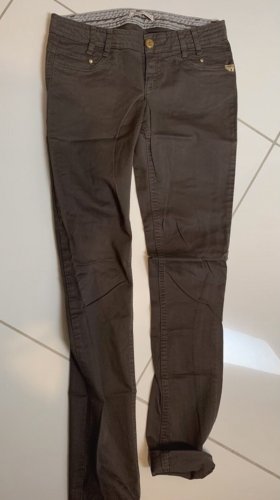 Polder Pantalone boyfriend marrone
