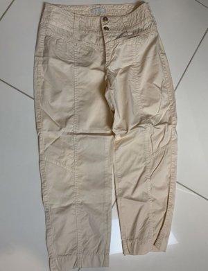 mac- woman Pantalon fuselé blanc cassé